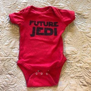Future Jedi Baby Onesie